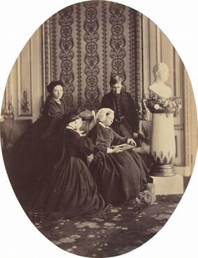 William Bambridge, Queen Victoria in Mourning, 1862