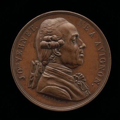 Claude-Joseph Vernet, 1714-1789, Painter [obverse]