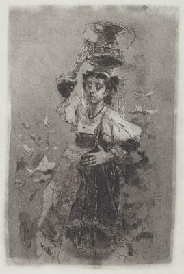 Peasant Woman of the Campagna [Ciociara]