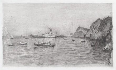 Harbor at Capri [Marina di Capri]