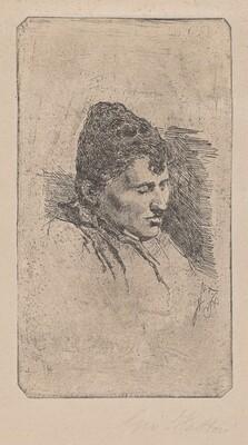 Portrait of the Artist's Second Wife [Ritratto della seconda moglie]