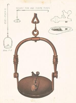 Amana Baker's Oven Lamp
