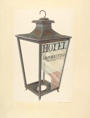 Bishop Hill: Hotel Lantern