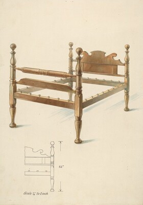Bishop Hill: Bed