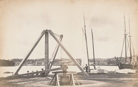 Construction of Washington Aqueduct