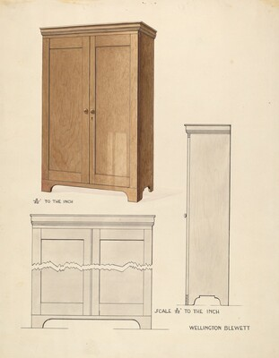Bishop Hill: Cupboard