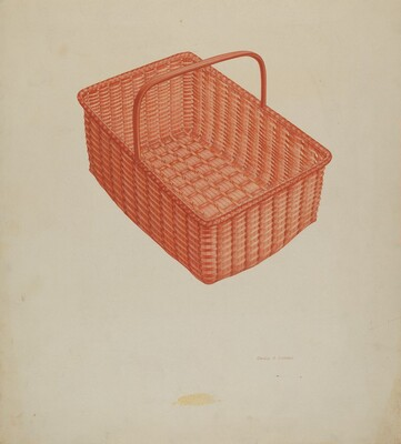 Shaker Laundry Basket