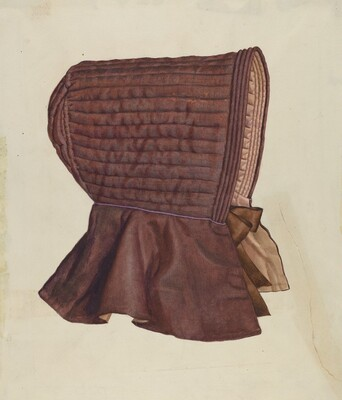 Shaker Woman's Bonnet