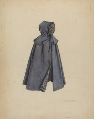 Shaker Doll's Cloak