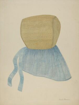 Shaker Straw Bonnet