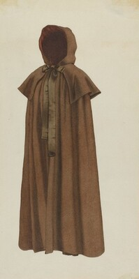 Shaker Woman's Cloak