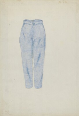 Shaker Man's Trousers