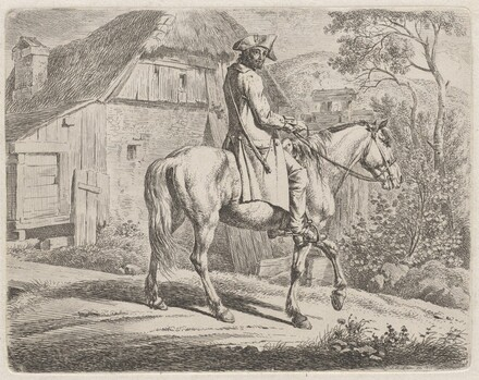 Cattle Dealer on Horseback