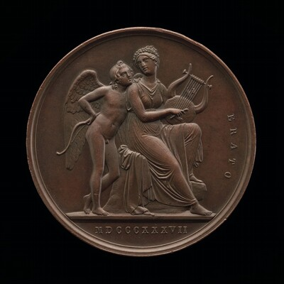 Cupid and Erato [reverse]