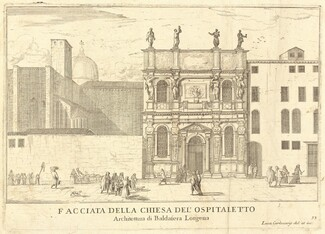 Facciata della Chiesa del'Ospitaletto (plate 33)