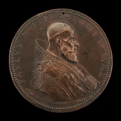 Paul IV (Gian Pietro Carafa, 1476-1559), Pope 1555 [obverse]
