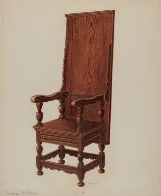 Jacobean Chair-table