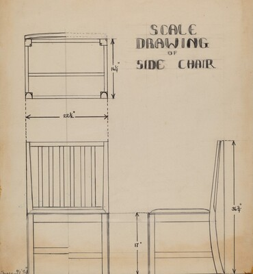 Side Chair (one of pair)