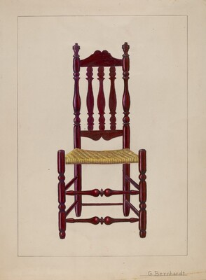 Baluster Back Chair
