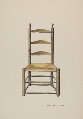 Pennsylvania Ladder Back Chair