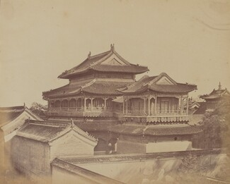 Temple of Confucius, Pekin, October 1860