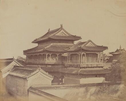 Temple of Confucius, Pekin, October 1860