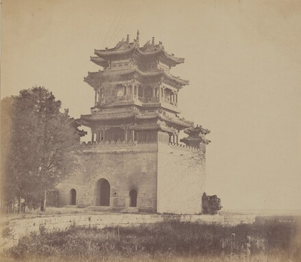 Imperial Summer Palace Yuen Min Yuen, Pekin, Before the Burning, October 18, 1860