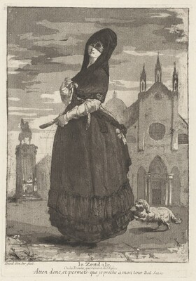 Le Zendale (Woman in a Hood, or the Woman Returning from Church)