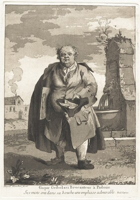 Gaspar Gribolari brocanteur à Padoue (Gaspar Gribolari, Second-Hand Dealer in Padua)