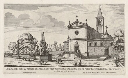 Chiesa dedicata à S. Pietro Apostolo (Church of San Pietro in Montorio)