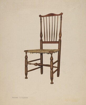 Bastard Windsor Chair