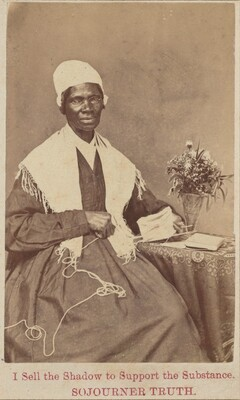 American 19th Century, Sojourner Truth, 18641864