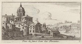 Veue de sainct Jean des Florentins