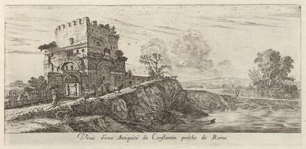 Veue d'une Antiquité de Constantin proche de Rome