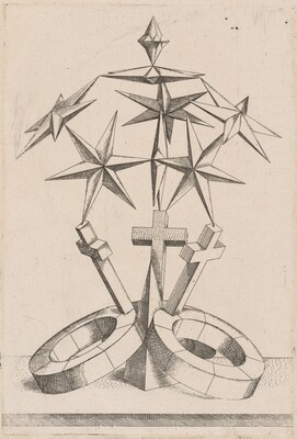 A Perspective of Seven Stars Balanced on Three Crosses