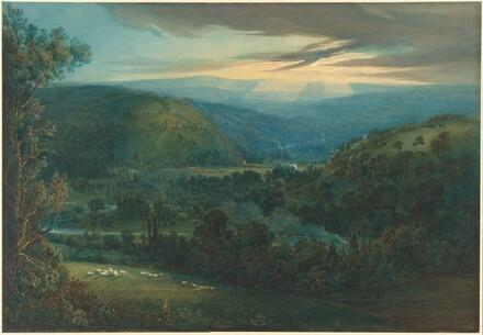Dawn in the Valleys of Devon