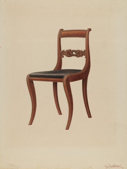 furniture from the index of american design