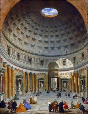 Interior of the Pantheon, Rome