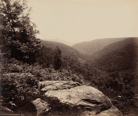 Cliff View, Summit of Alleghenies