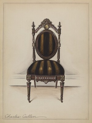 Chair (one of a pair)