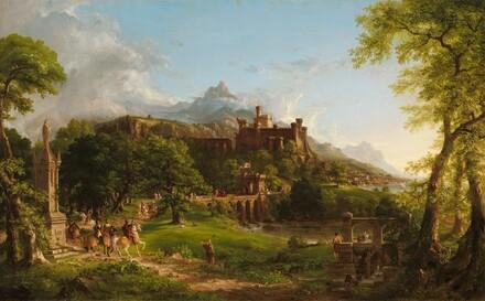 Thomas Cole, The Departure, 18371837