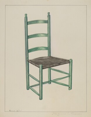 Ladder Back Chair - Called Jolting Chair