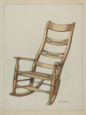 Colonial Rocking Chair