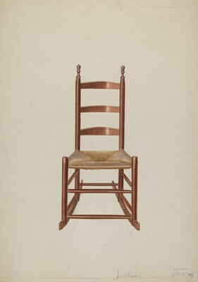 Ladder Rock Chair