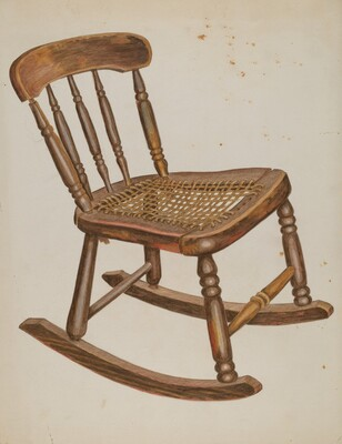 Rocking Chair, Small, Child's