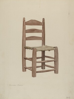 Rawhide Bottomed Chair