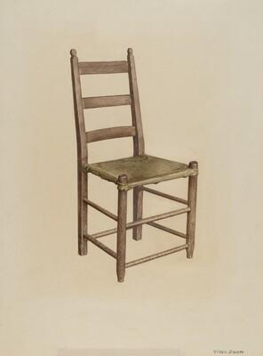 Rawhide Bottom Chair