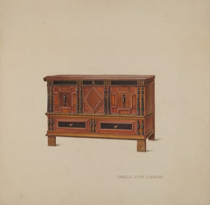 Chest with Two Drawers