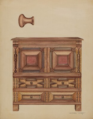 Chest (with two drawers)