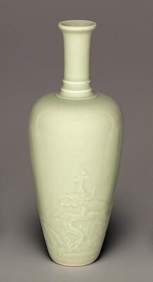 Vase with Ringed Neck